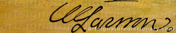 Signature by Ulf LARSSON