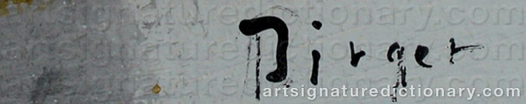 Signature by Birger BIRGER-ERICSON