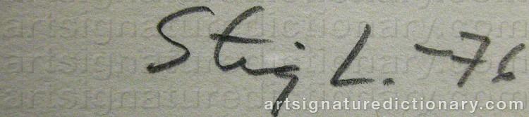 Signature by Stig LINDBERG