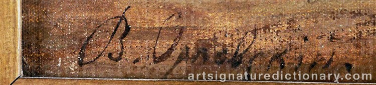 Signature by Vladimir Donatovich ORLOVSKY