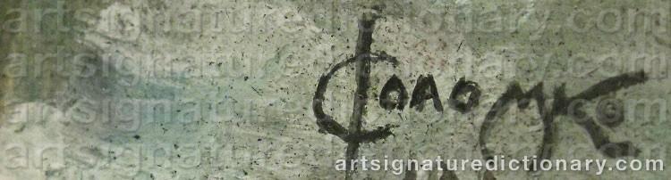 Signature by Sergei Sergeievich SOLOMKO