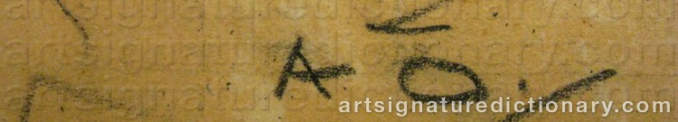 Signature by Allan ÖSTERLIND