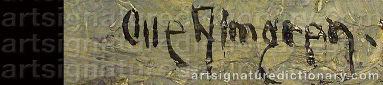 Signature by Olle ALMGREN