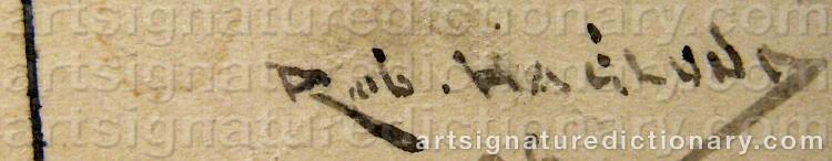Signature by Robert HAGLUND