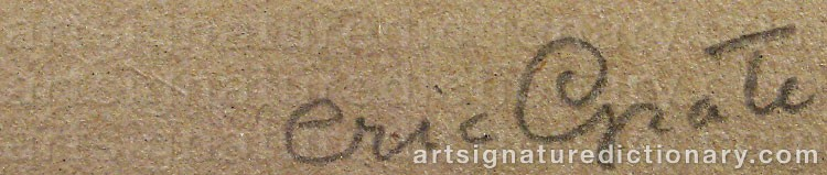 Signature by Eric GRATE
