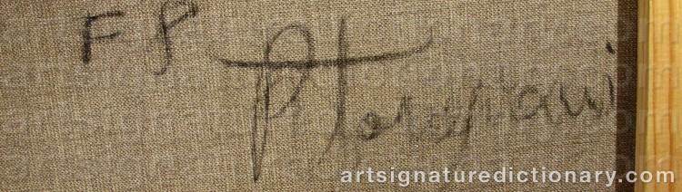 Signature by Roberto TORREGIANI