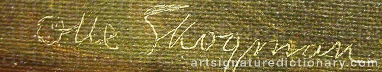 Signature by Olle SKOGMAN