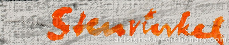 Signature by Jan STENVINKEL