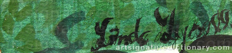 Signature by Linda LYSELL