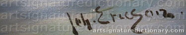 Signature by Johan ERICSON