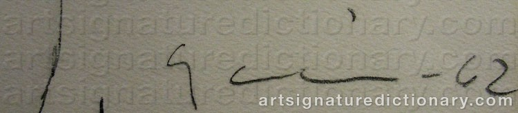 Signature by Yngve GAMLIN
