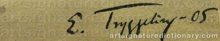 Signature by Erik TRYGGELIN