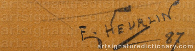 Signature by Erland HEURLIN