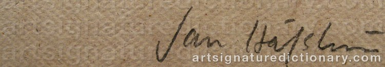 Signature by Jan HÅFSTRÖM