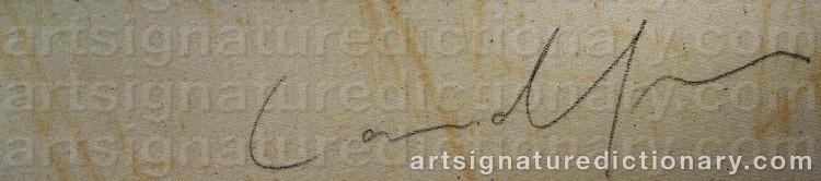 Signature by Kjell Gunnar LANDFORS