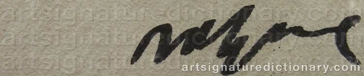 Signature by Bjarne MELGAARD