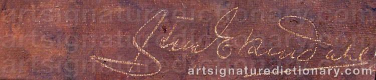 Signature by Sten EKENDAHL
