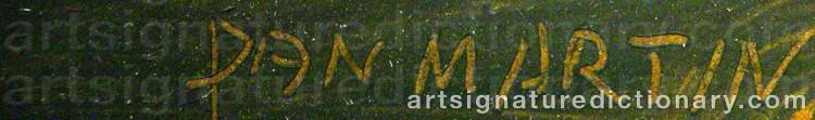 Signature by Dan-Martin 'Dan Martin' MASELL