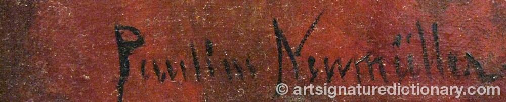 Signature by Pauline ÅKERLUND NEUMÜLLER