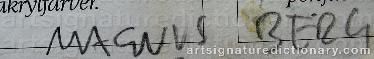 Signature by Magnus BERG