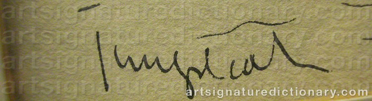 Signature by Kurt JUNGSTEDT