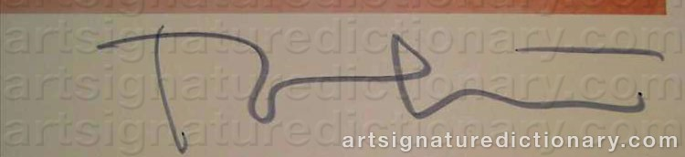 Signature by Bert STERN