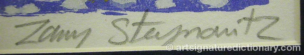 Signature by Zamy STEYNOWITZ