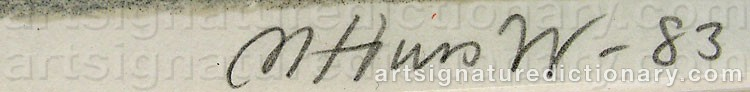 Signature by Mona HUSS WALLIN
