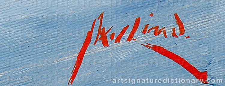 Signature by Axel LIND